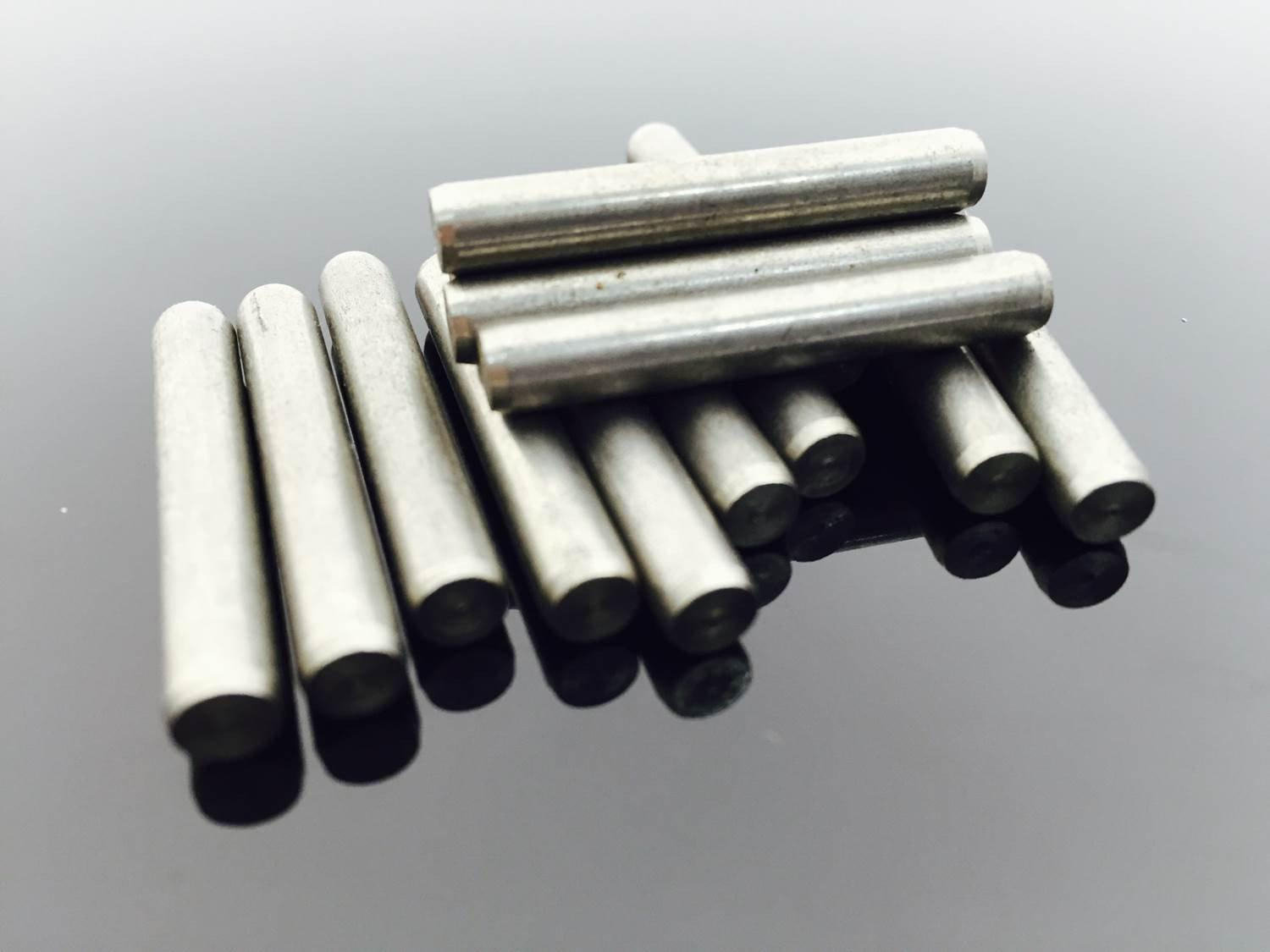 M6, Dowel Pins, A2 Stainless Steel, DIN 7., Hardware by Fixaball