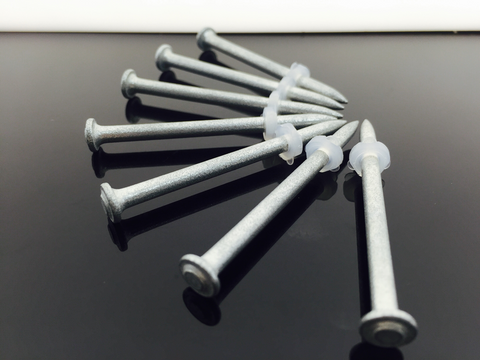 Plastic Washer Pins/ Nails.