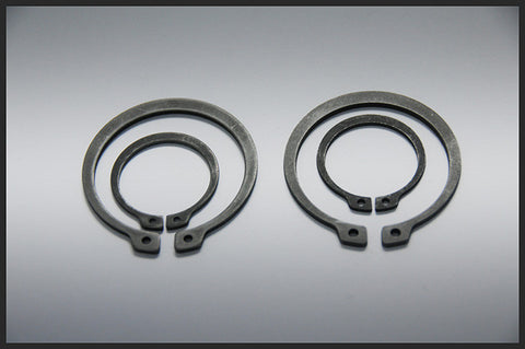 Circlips, External, 3-16mm, Stainless Steel, DIN 471.