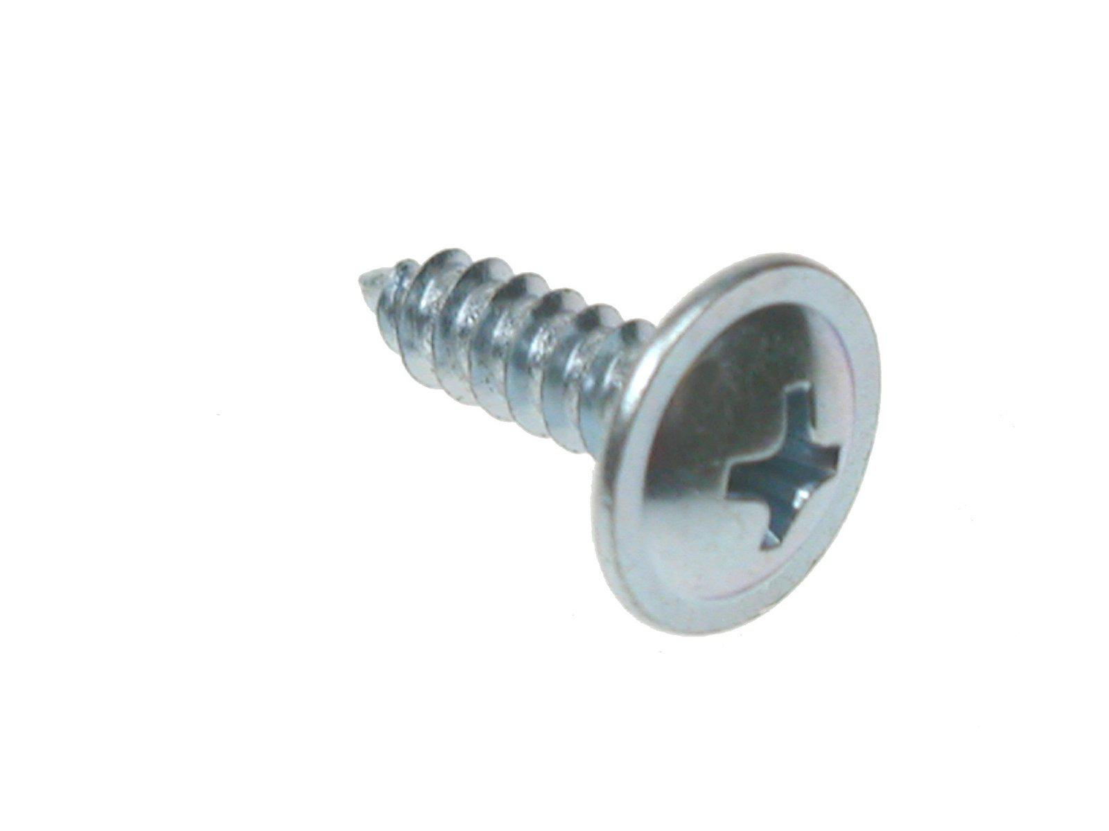 3.5 x 13mm, Wafer, Sharp Point, Drywall Screws, Zinc., Hardware by Fixaball