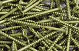Decking/ Exterior Screw - Pozi/ Countersink Head - Green - Fixaball