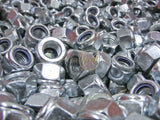 Nyloc Nuts, Zinc. - DIN 982 Fixaball