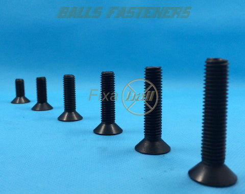 M3 - M6, Countersink, Socket Screw (12.9)