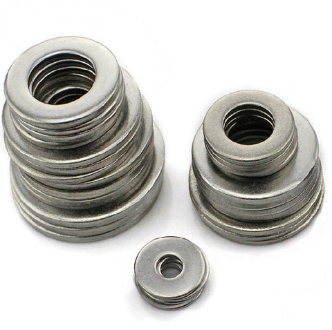 Washers, Form A, A2 Stainless.