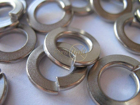 Spring Washers, Rectangle and Square Section, Zinc.