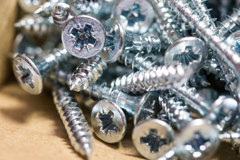 Wood Screws, General Purpose, Pozi, CSK, Zinc.