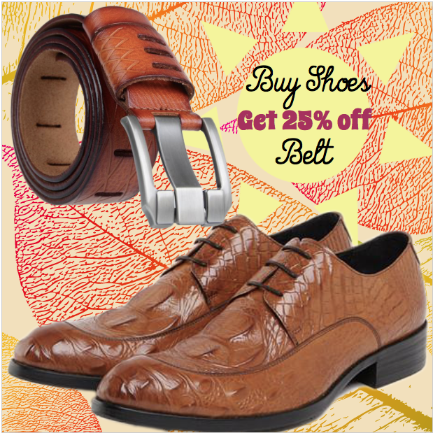 Runit365 - Match your shoes and belt