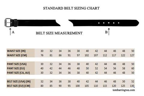 Belt Size Guide