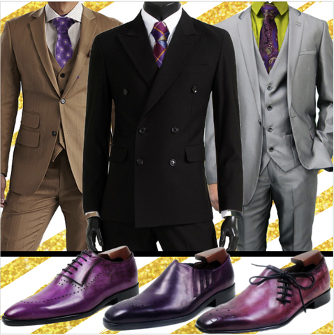 Runit365 - Experience the Elegance - Purple shoes