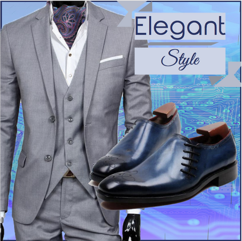 Runit365 - Elegant Style with Ascot Robert and Shoes Ocean