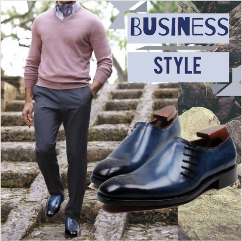 Runit365 - Business Style with Ascot Robert and Shoes Ocean