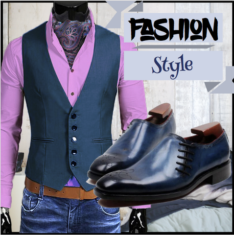 Runit365 - Fashion Style with Ascot Robert and Shoes Ocean