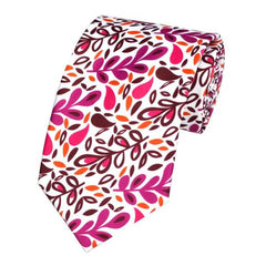 Runit365 - Necktie Pink Leaves