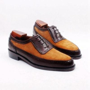 Autumn - Deluxe brown oxford shoes
