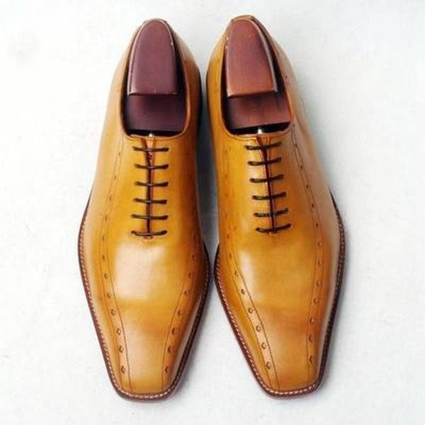 Brown lace up shoes - Joao