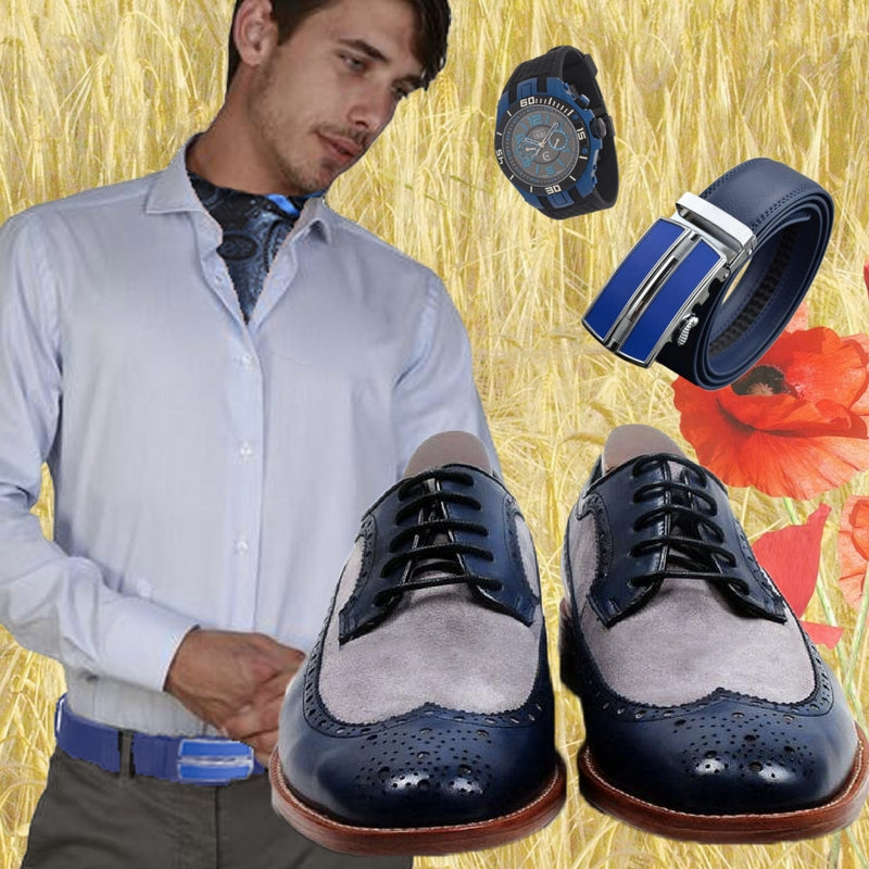 Smart Casual Outfit Blue Venice