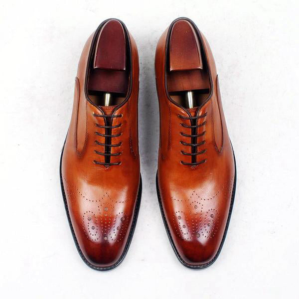 Donovan - Deluxe Brown Men Shoes