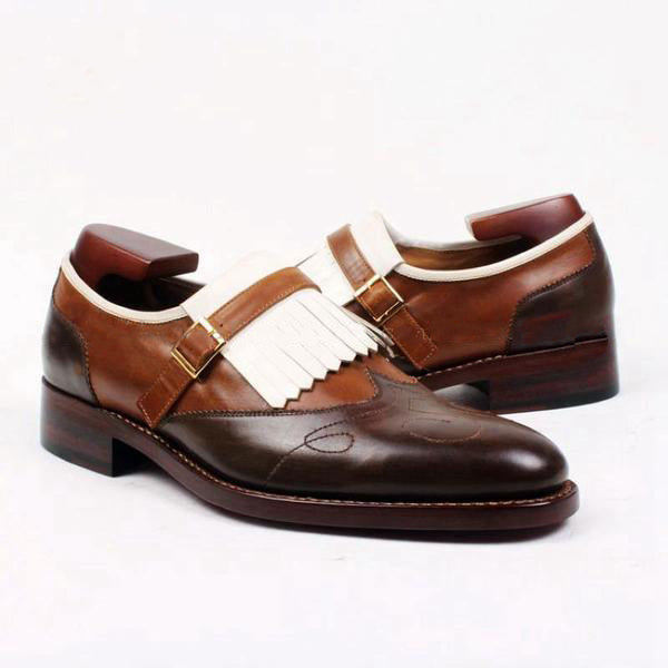 Golf Dark Brown - Deluxe Slip on Men Shoes