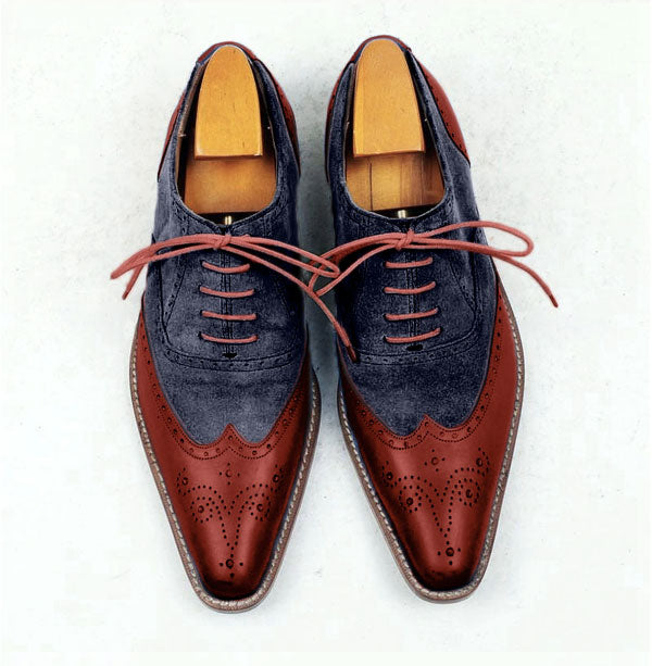 Smart Suede oxford shoes - Design your own custom made shoes - Runit365