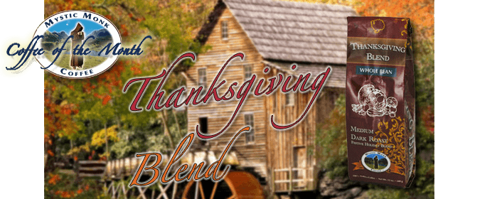 Thanksgiving Blend Coffee Banner