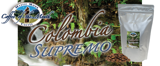 Colombian Tolima Supremo Coffee Banner