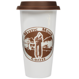 Porcelain Travel Mug, Mug - Mystic Monk Coffee
