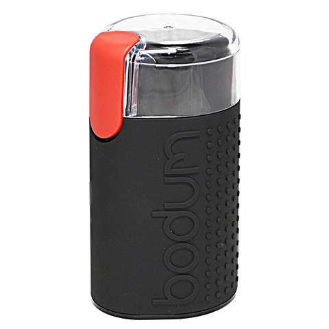 Bodum Coffee Grinder (Black), Equipment - Mystic Monk Coffee