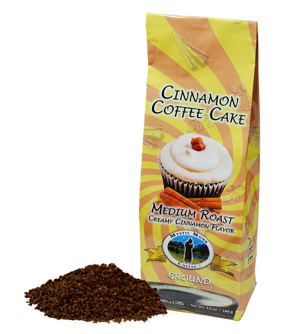 Cinnamon Coffee Cake, Coffee - Mystic Monk Coffee