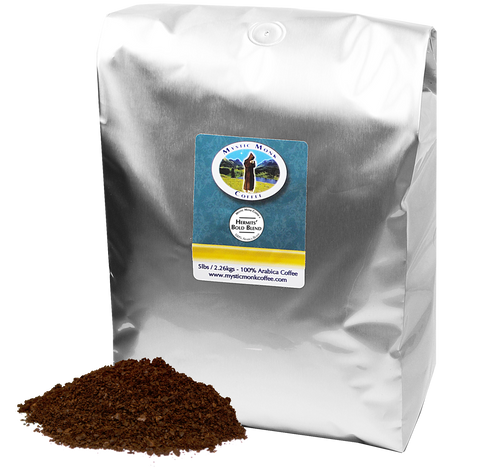 Hermits Bold Blend 5lb, 5lb Coffee - Mystic Monk Coffee