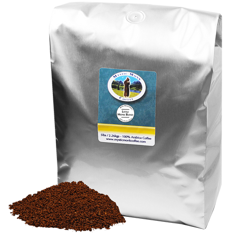 Little Monk Blend 5lb, 5lb Coffee - Mystic Monk Coffee
