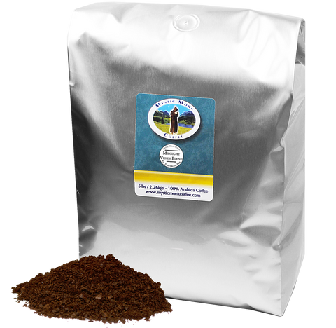 Midnight Vigils Blend 5lb, 5lb Coffee - Mystic Monk Coffee