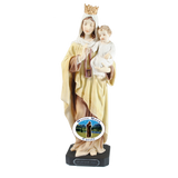 Our Lady of Mount Carmel Statue, Statues - Mystic Monk Coffee