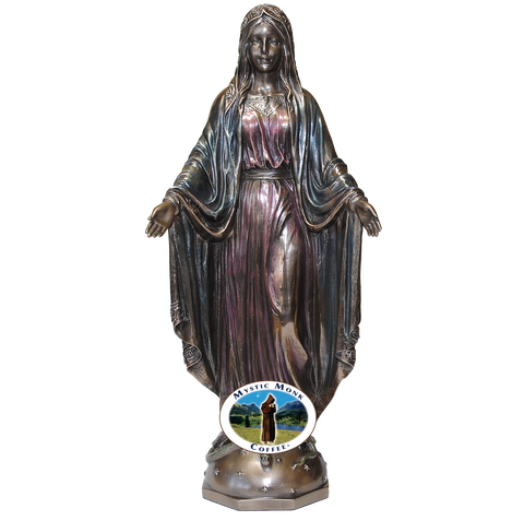 Our Lady of Grace Statue, Statues - Mystic Monk Coffee