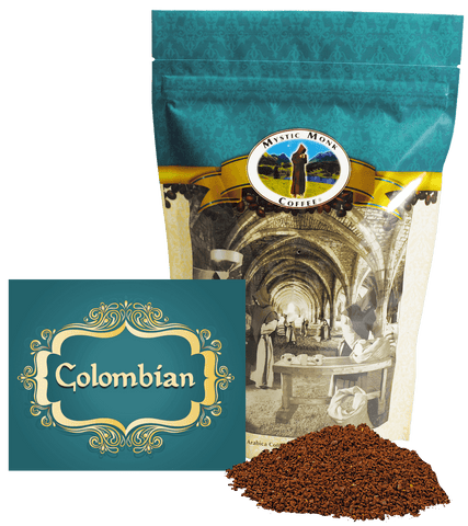 Colombian, Coffee - Mystic Monk Coffee