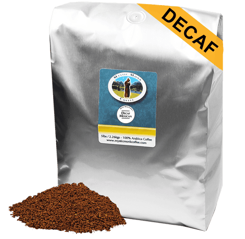 Decaf Mexican 5lb, 5lb Coffee - Mystic Monk Coffee