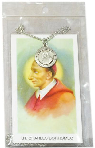 Saint Charles Medal, Medals - Mystic Monk Coffee