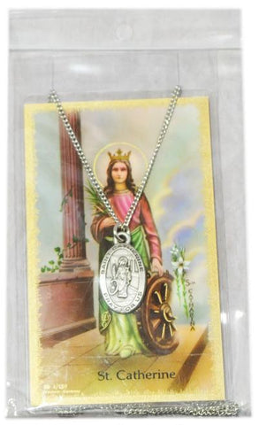 Saint Catherine Medal, Medals - Mystic Monk Coffee