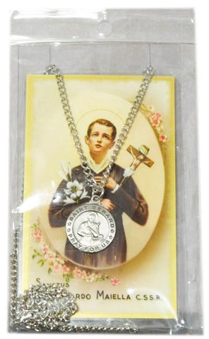 Saint Gerard Medal, Medals - Mystic Monk Coffee