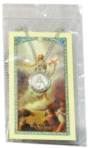 Saint Gregory Medal, Medals - Mystic Monk Coffee