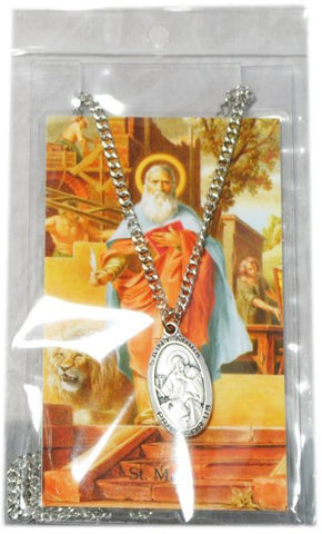 Saint Mark Medal, Medals - Mystic Monk Coffee