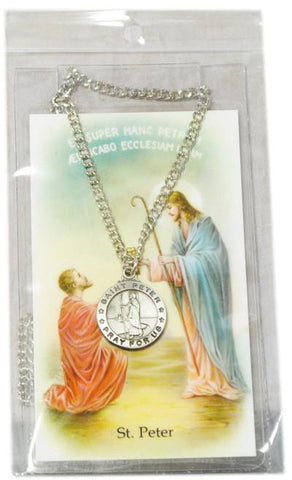 Saint Peter Medal, Medals - Mystic Monk Coffee