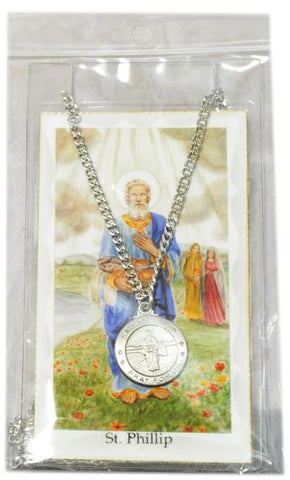 Saint Phillip Medal, Medals - Mystic Monk Coffee