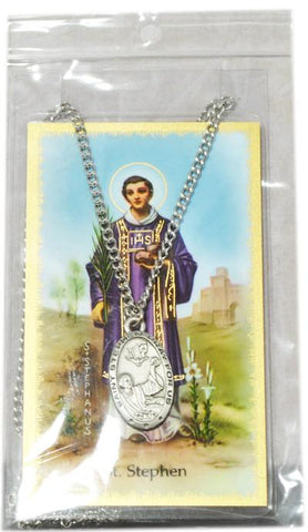 Saint Stephen Medal, Medals - Mystic Monk Coffee