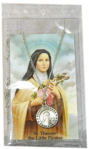 Saint Therese Medal, Medals - Mystic Monk Coffee