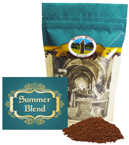 Summer Blend, Coffee - Mystic Monk Coffee