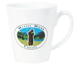 White Latte Mug, Mug - Mystic Monk Coffee