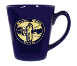 Blue Latte Mug, Mug - Mystic Monk Coffee
