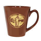 Brown Latte Mug, Mug - Mystic Monk Coffee