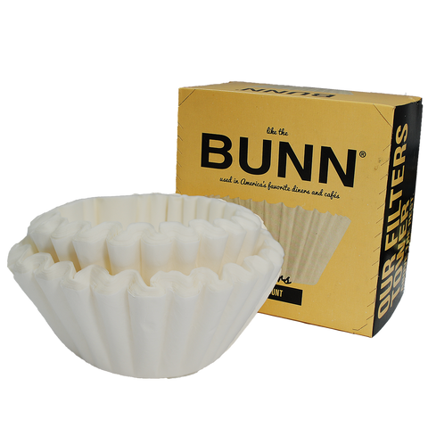 Bunn 100ct Coffee Filters, Equipment - Mystic Monk Coffee