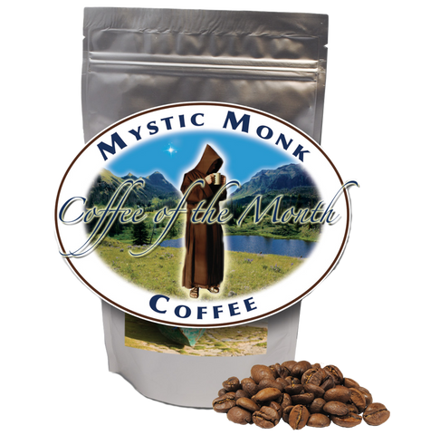 Prepaid Coffee of the Month (Whole Bean Only), Archived Coffee - Mystic Monk Coffee